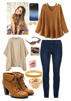 """Getting into the fall season"" by angelofadorability on Polyvore featuring Annina Vogel, WithChic, Marc by Marc Jacobs, Effy Jewelry and MANGO"