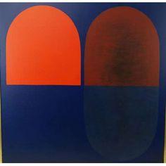 TOMIE OTHAKE - Composição , óleo sobre tela Dat 1976 , 70 x 70 cm. Tomie Ohtake, Abstract Art, Artists, Painting, Design, Art History, Contemporary Art, Oil On Canvas, Visual Arts
