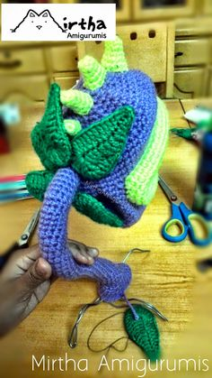 Mirtha Amigurumis: Chomper Plants vs Zombies