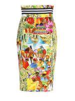 Stella Jean: Knee length skirts & Midi - Haitian market skirt