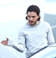 The one and only Kit Harington — casaharington: Kit Harington - Belfast 2016 Kit And Emilia, Kit Harrington, King In The North, British Boys, Tv Couples, One And Only, Jon Snow, Celebs, Actors