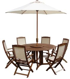 Patio Furniture Sets with 6 Henley Highback Chairs