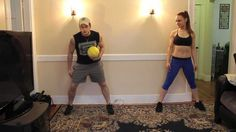 FRUGAL WORKOUT: Workout Partner Medicine Ball Training