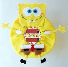 Puppet Bob Esponja para Lente