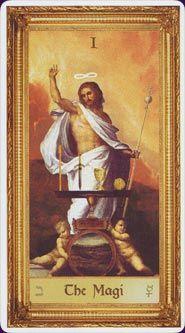 Example card from the Sacred Art Tarot. DISCOVER MORE: http://www.tarotacademy.org/sacred-art-tarot/