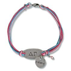 Delta Gamma Sorority Sister Bracelet $11.95 of course with Pi Beta Phi on it