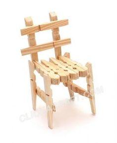 Risultati immagini per clothespin furniture
