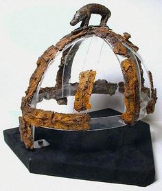 The Anglo-Saxon helmet found at Benty Grange