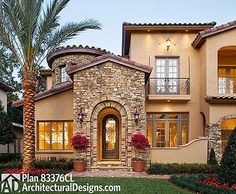 Best In Show Courtyard Stunner - 83376CL | European, Florida, Mediterranean, Luxury, Photo Gallery, Premium Collection, 1st Floor Master Suite, Butler Walk-in Pantry, CAD Available, Courtyard, Den-Office-Library-Study, Jack & Jill Bath, Loft, MBR Sitting Area, Media-Game-Home Theater, PDF | Architectural Designs