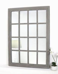 Provence-Grey-Shabby-Chic-Rectangle-Window-Wall-Mirror-40-x-28-V-Large