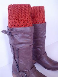 Crochet boot cuffs hand made boot cuffs color of by ChildCrochet, $15.50