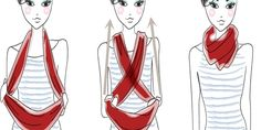 How To Wear An Infinity Scarf 20 Different Gorgeous Looking Ways ---> http://www.ladylifehacks.com/wear-infinity-scarf-20-different-gorgeous-looking-ways/