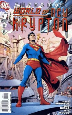 Superman World of New Krypton (2009) 1A