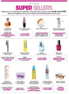 Avon's Rising stars FREE £150 Product pack
