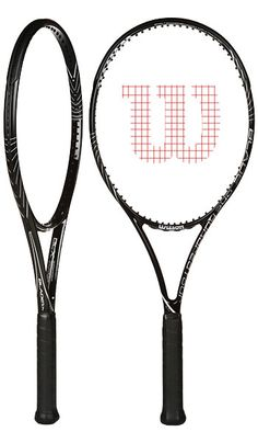 My new racquet.  LOVE it! This is the bomb. :) Wilson Blade 104 2013 Racquet.
