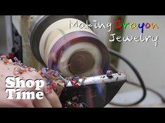 Making Crayon Jewelry - YouTube