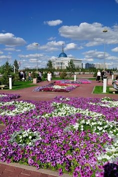 Photo by KseniyaPhotography Astana Kazakhstan, Gardens Of The World, Most Beautiful Gardens, Central Asia, Eastern Europe, Wonderful Places, Botanical Gardens, Garden Plants, Stuff To Do