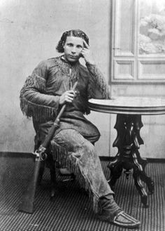"Joe Richeaud, ""Buckskin Joe"" was the son of a French trapper and a Souix woman. He was with General Custer at the Battle of the Wichiteau in 1868 and at the Battle of Little Big Horn in 1876."