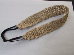 Hemp Crocheted Hairband available in by hempcreationsbyjulie, $21.00