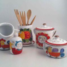 Italian Pottery, Palermo, Bowl Set, Italy, How To Make, Italia