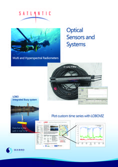 Optical Sensors and Systems Science Posters, Time Series, Sea Birds