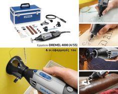 Πολυεργαλείο DREMEL 4000 (4000-4/55) - saragoudas.gr Dremel 3000, Vacuums, Home Appliances, House Appliances, Vacuum Cleaners, Appliances