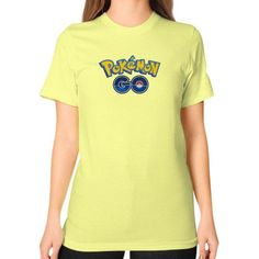 Pokemon GO Unisex T-Shirt (on woman)