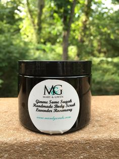 Gimme Some Sugah Body Scrub Relaxed Lavender Rosemary