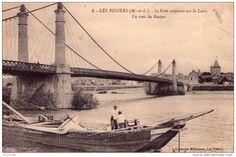 Gabare accostée; Les Rosiers sur Loire