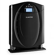 Klarstein Grenoble Air Purifier with Filter Black. With its high rate of air flow, theKlarstein Grenoble Air Purifier Ioniser reliably removes pollen, house dust, fine dust mites, and residues from the air in the room. Tiny Mobile House, Room Humidifier, Home Air Purifier, Hepa Filter, Heating And Cooling, Filters, Remote, Home Appliances, Display