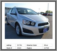 2014 Chevrolet Sonic LT Auto Sedan  Mp3, Adjustable Steering Wheel, Emergency Trunk Release, Cloth Seats, Anti-Theft System, Child Safety Locks, Reading Lights, Bucket Seats, Steering Wheel Controls