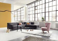 Collectie Prima-Lux en Idee+: prachtig salon in stof