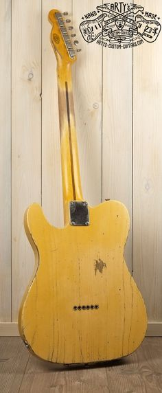 Broadcaster Butterscotch Blonde Telecaster Heavy Relic Tele Maple