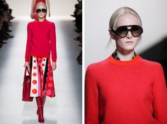 Valentino  Let's Ogle Fall Knitwear Trends!   http://sheepandstitch.com/fall-knitwear-trends-2014/