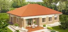 Picture of Eco-friendly Contemporary House Plan