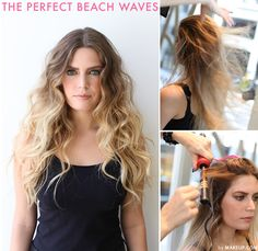 There's nothing better than feeling sunkissed and beautiful,why not give your hair the same bohemian vibe? We are obsessed with beach waves and have created this simple guide to teach you how to achieve this hairstyle!
