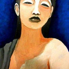 Gheisha - Mattia Recupero - Acrilico su tela
