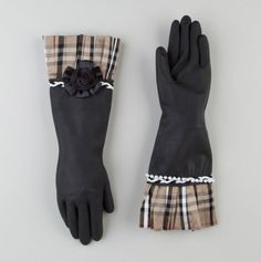 Preppie Plaid Dish Gloves