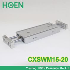 CXSM CXSJ CXSW series CXSWM15-20 15mm bore 20mm stroke dual rod cylinder slide bearing double rod pneumatic cylinder CXSW15-20 #Affiliate
