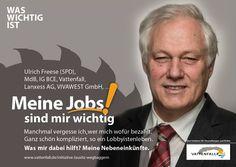 Multijobber, SPD, Tagebau, CO2, Braunkohle, Energiewende, Vattenfall, WasWichtigIst