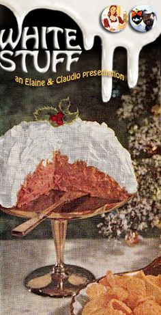 "Snow Cap Spread.  No, it's not the Pinterest mystery finally revealed as Salmon Party Salad, but it does appear to be a cousin.  Beware of any recipe that says ""Mound on plate,"" especially when it involves canned deviled ham and cream cheese.  (1960)"