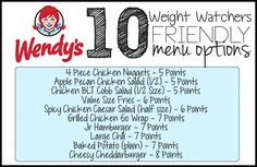 Here are 10 menu options at Taco Bell that will fit into your Weight Watchers Meal Plan – All 8 Points or Less! Please PIN THIS POST to your Weight Watchers board! Be sure to check out 50 Wei… Weight Watchers Tipps, Weight Watchers Meal Plans, Weigh Watchers, Weight Watchers Smart Points, Weight Watchers Diet, Weight Watcher Dinners, Weight Watchers Restaurant Points, Weight Watchers Program, Kfc