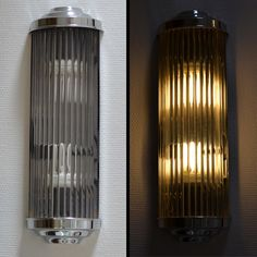 cinema style wall light art déco chrome lamp antique movie bauhaus