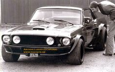 Image result for 1965 mustang slammed and blower