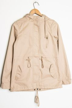 Our favorite anorak jacket is now in Khaki!