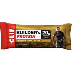 CLIF BUILDERS  Protein Bar  Chocolate Peanut Butter  24 oz 12 Count *** For more information, visit image link.