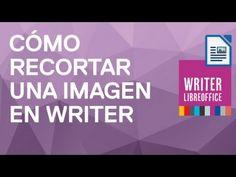 Cómo recortar una imagen en Writer de LibreOffice