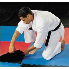 Century Reversible Puzzle Sport Mat Blueblack *** Visit the image link more details. (This is an affiliate link) Martial Arts Workout, Martial Arts Training, Sport Mat, Puzzle Mat, Workout Gear, Fitness Gear, Sports, Image Link, Outdoors