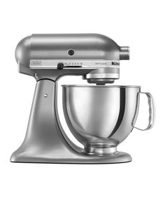 Take a look at this KitchenAid | Contour Silver 5-Qt. Artisan® Series Stand Mixer today!