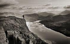 View over Loch Treig, Lochaber, Scottish Highlands, by David Kirkpatrick...